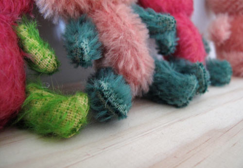 miniature mohair bears