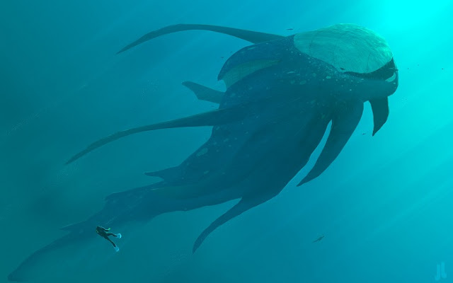 Menyeramkan Hewan Laut Unik Ini Berasal Dari Planet Lain