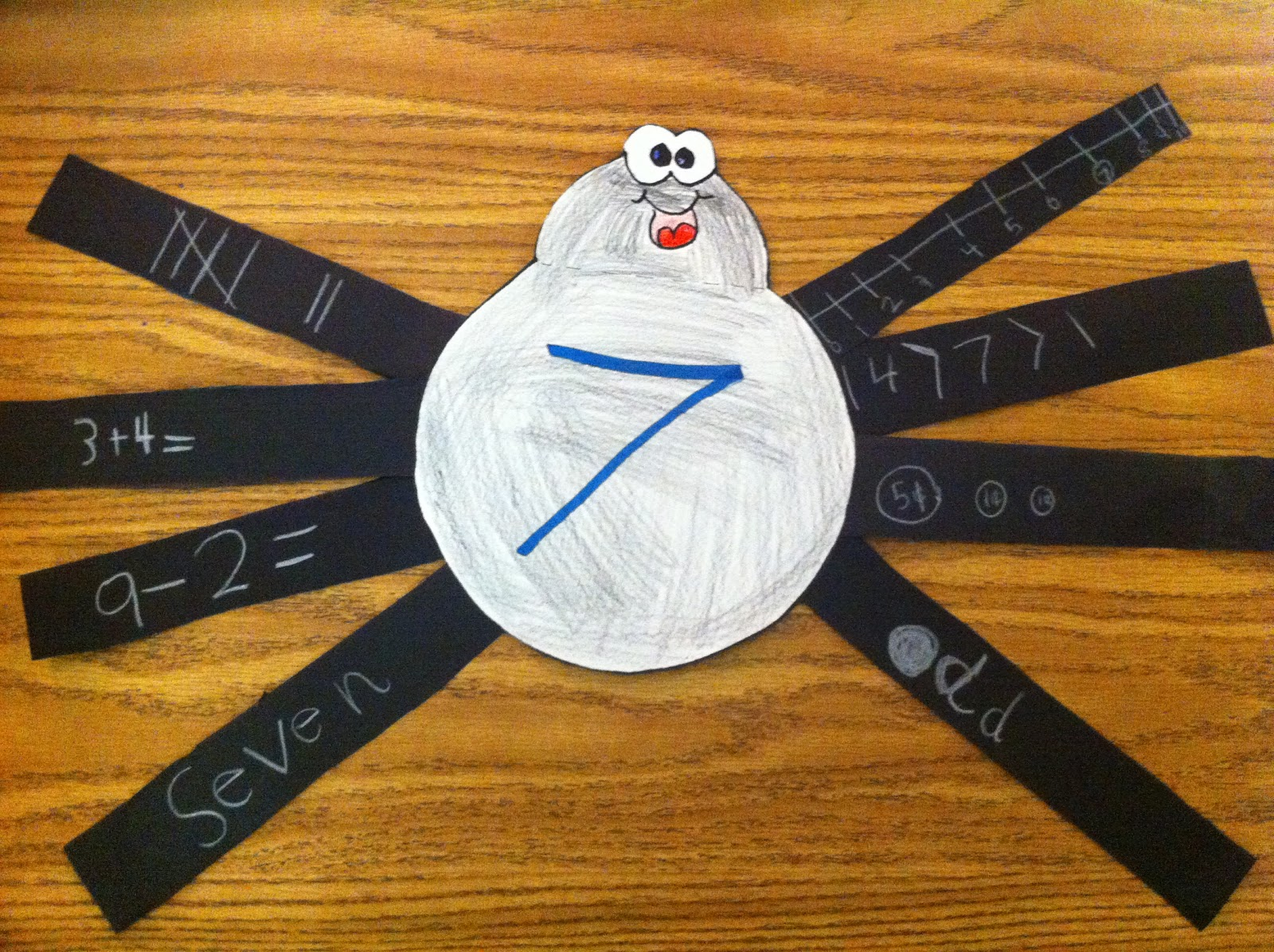Moore Fun In First Spider Math Amp Ways To Make Freebie