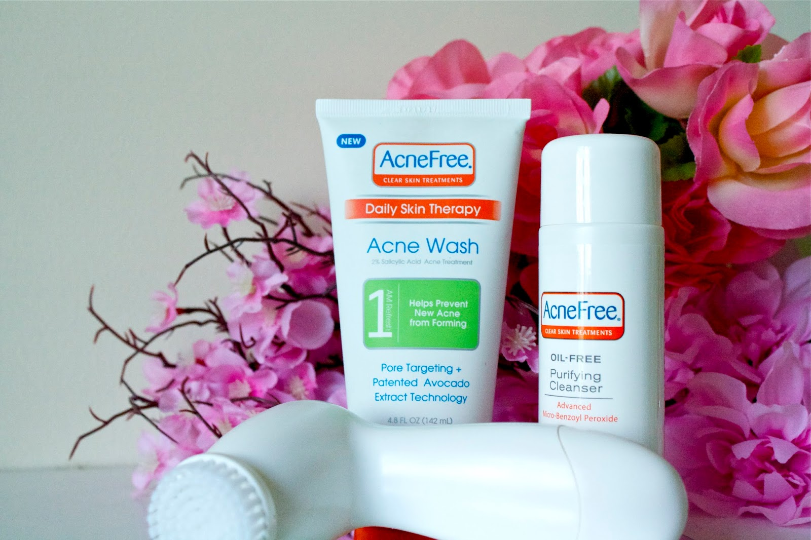 AcneFree skin care products