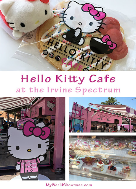 Hello Kitty Cafe at the Irvine Spectrum