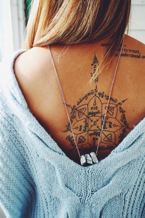 Tribales y tatuajes femeninos de espalda | Belagoria | la web de los ...