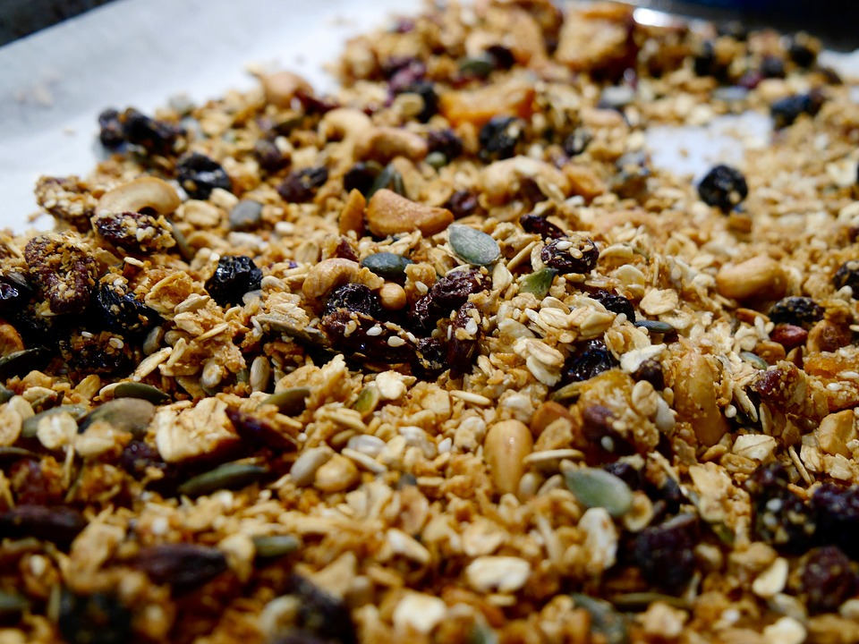 granola na panela