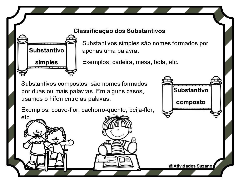 Atividade Interativa Substantivo Simples Composto Atividades  -> Atividades Com Substantivos Simples E Composto 4 Ano