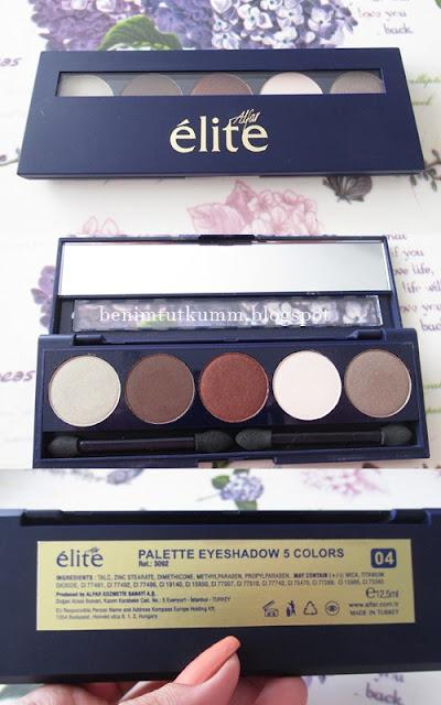 Elite 5'li Göz Farı Paleti