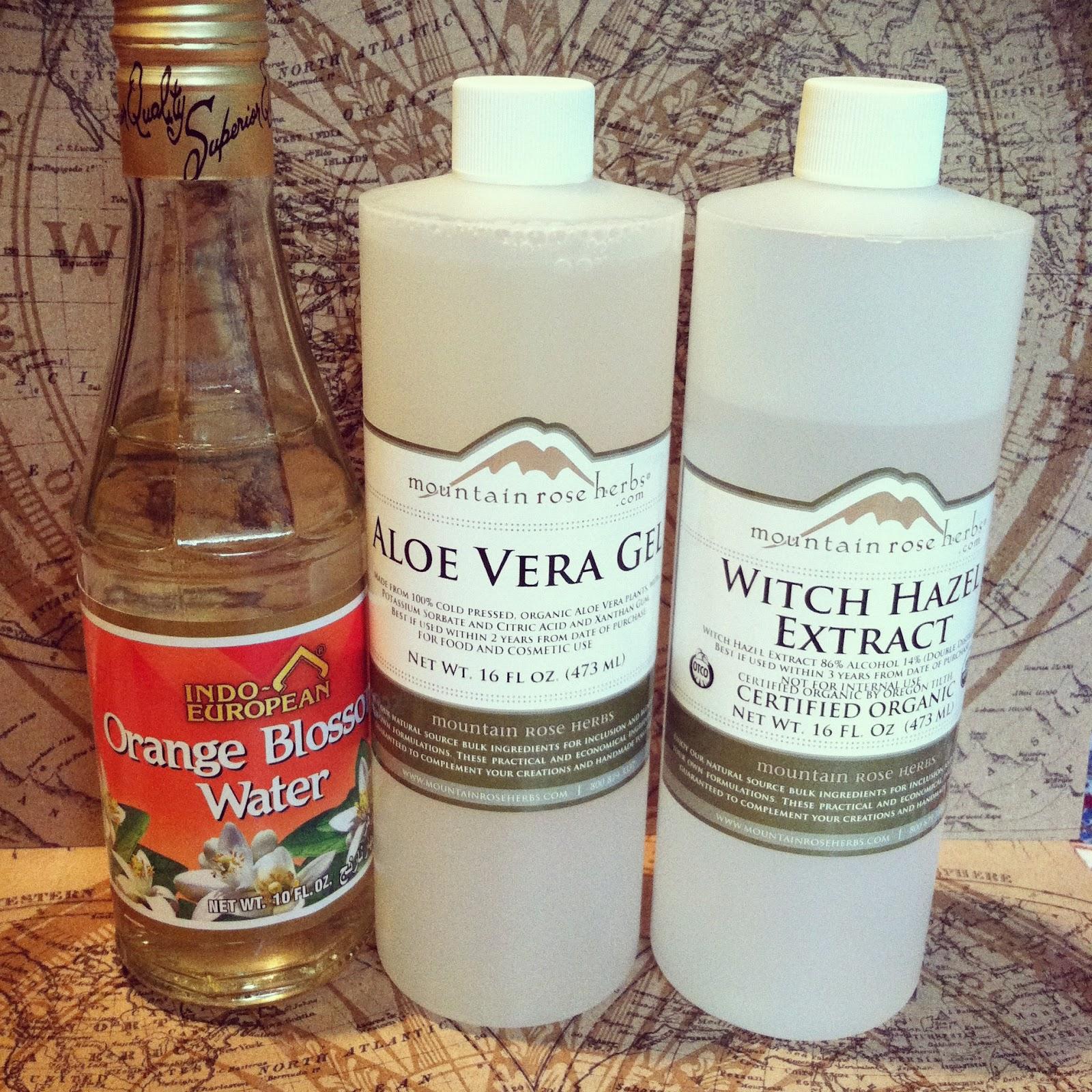 Excellent oily skin facial witch hazel aloe vera toner recipe sorry