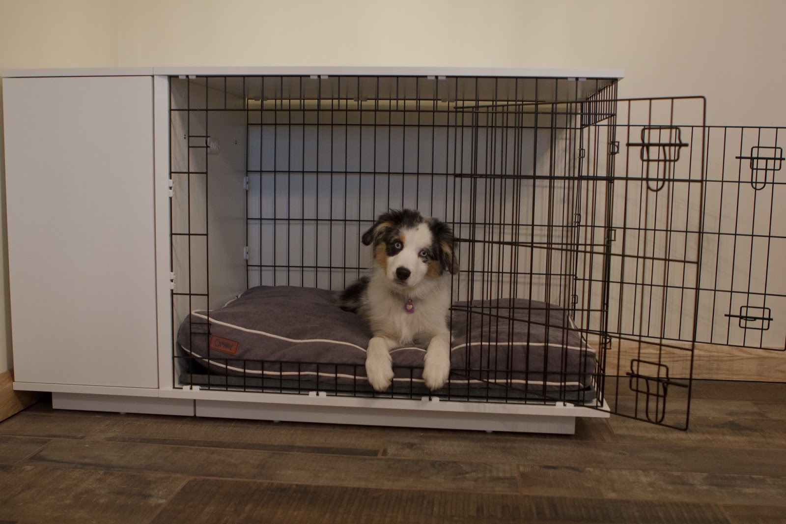 Team Stokey Omlet Fido Studio Dog Crate
