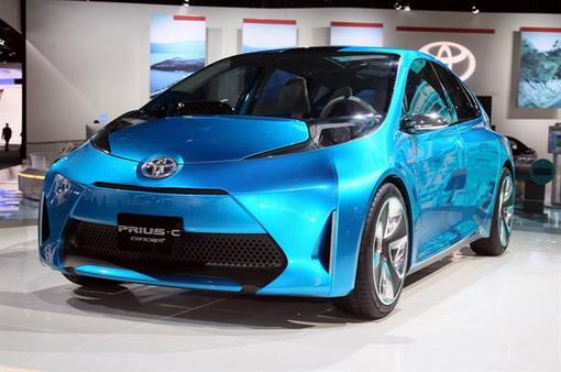 Elegant And Luxury Car Toyota Prius C 2012
