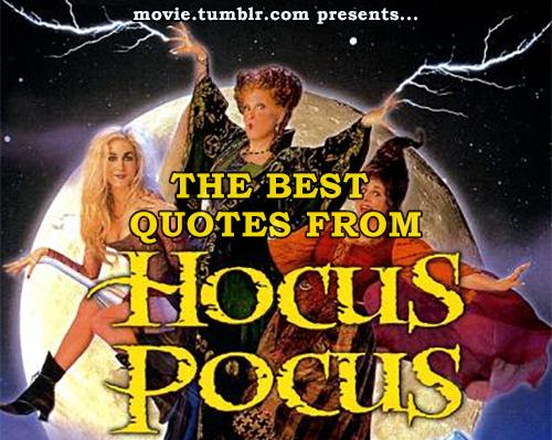 Halloween Day Quotes Hocus Pocus