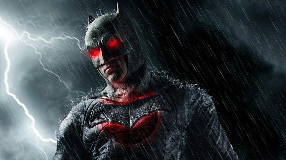 Batman, Red Eyes, 4K, #4.2285