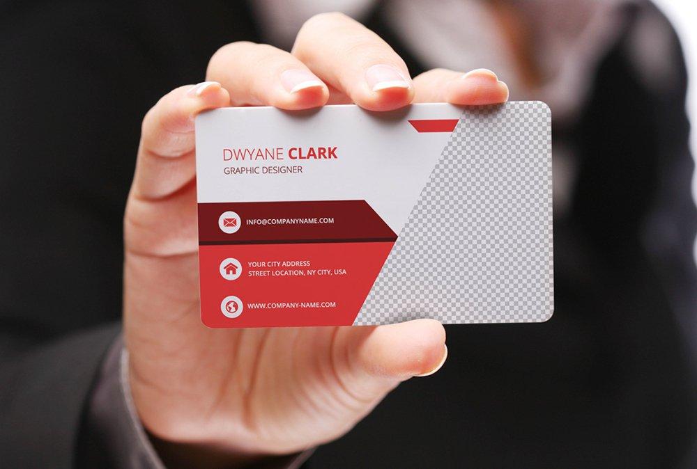 Free Mockup Business Card PSD