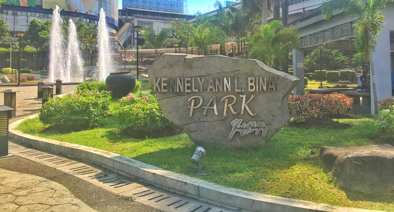 Parks in Guadalupe Makati