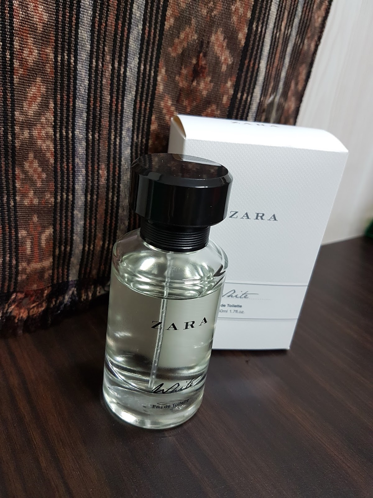 The Chattering Mom Beauty Review White Eau De Toilette By Zara