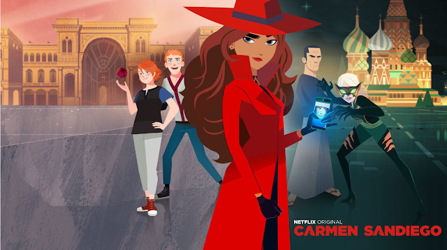 The free Google Earth best game lets you track Carmen Sandiego