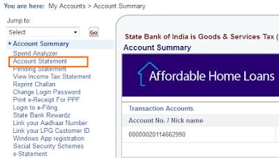 CIF Number SBI Internet Banking