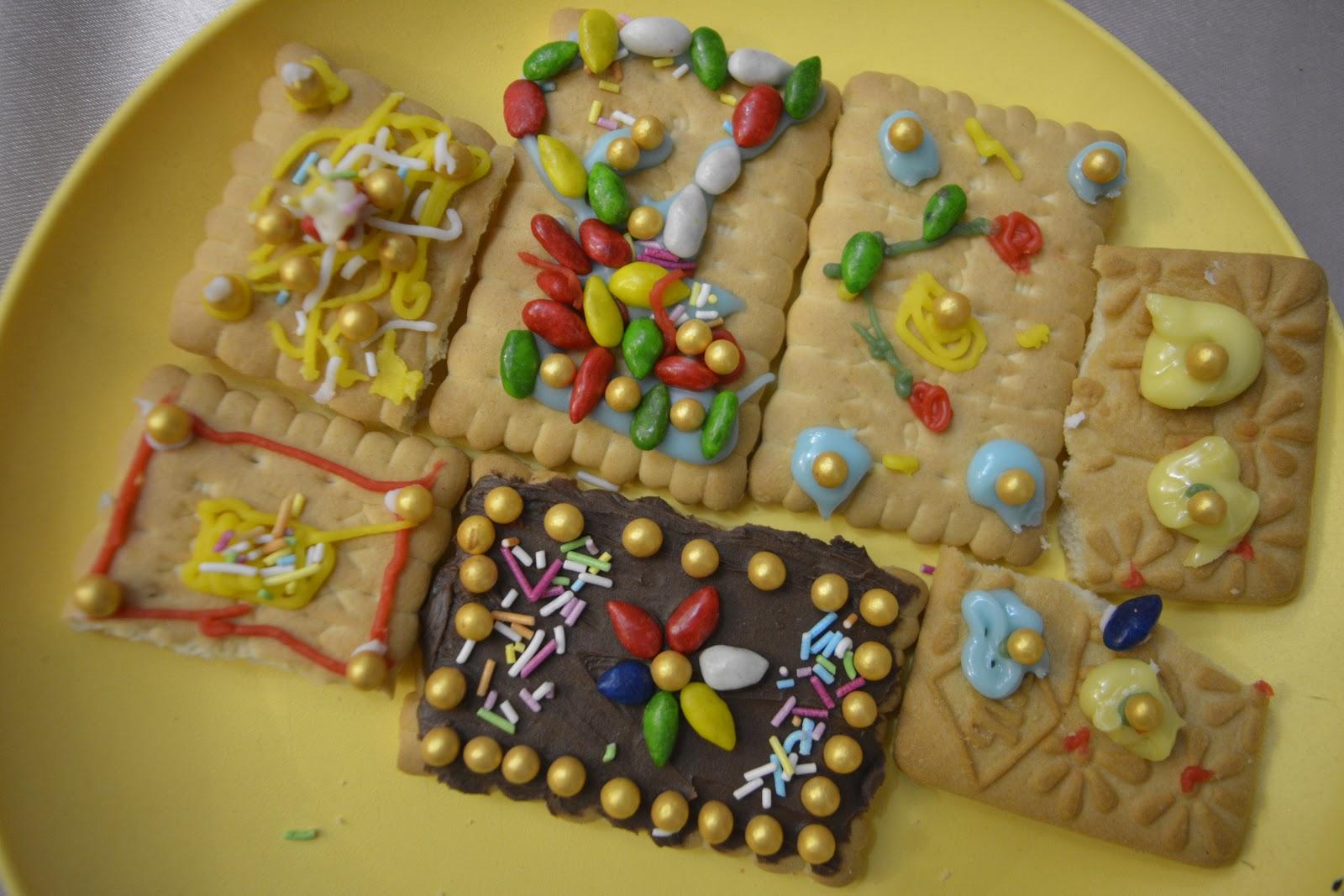 мастер-класс по украшению печенья