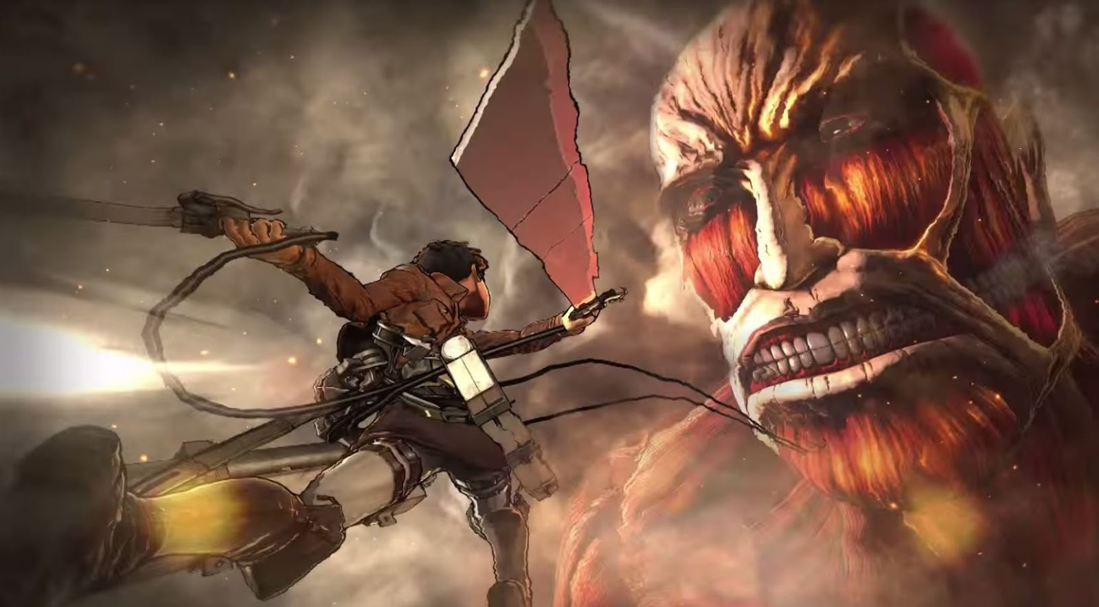 Download Game PS3 Attack on Titan PKG - rnbgame