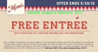 Mimis Cafe coupons february 2017