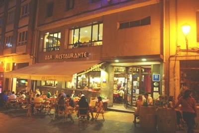 Oviedo, sidrería El Ovetense