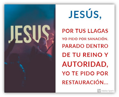 Oración de Sanación por las Llagas de Jesús
