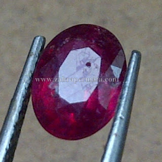 Batu Permata Ruby Pigeon Blood - ZP 752