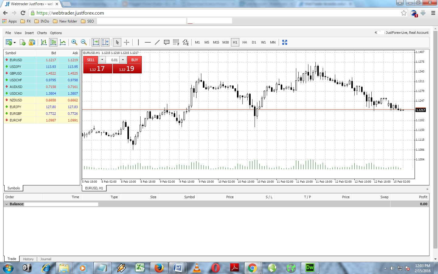 Forex browser