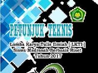 Lomba Karya Tulis Ilmiah (LKTI) Madrasah 2017