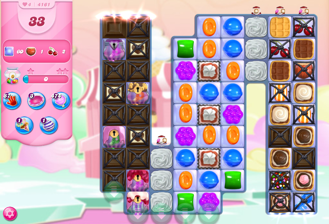 Candy Crush Saga level 4161