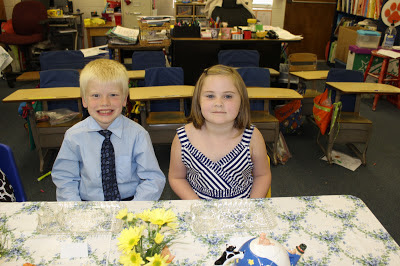 End of Year Tea Party in 1st Grade