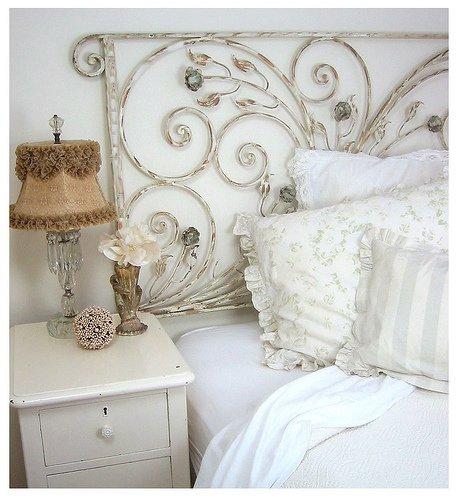 cabeceira  cama - ferro