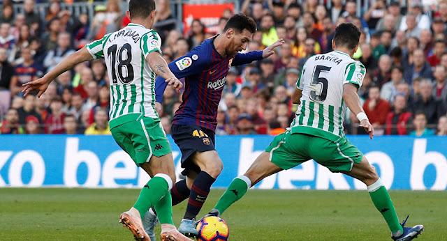 بلاشوت : مشاهدة مباراة ريال بيتيس و برشلونة الاحد 17-3-2019