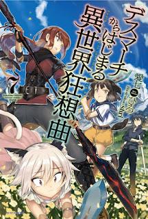 """Nuevo diseño de personajes para el anime """"Death March Kara Hajimaru Isekai Kyosokyoku"""""""