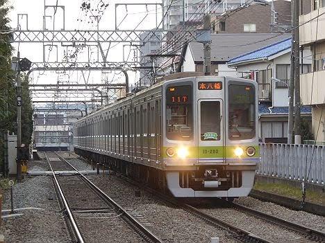 【最後の京王線内日中運用!】さよなら都営10-000形280F