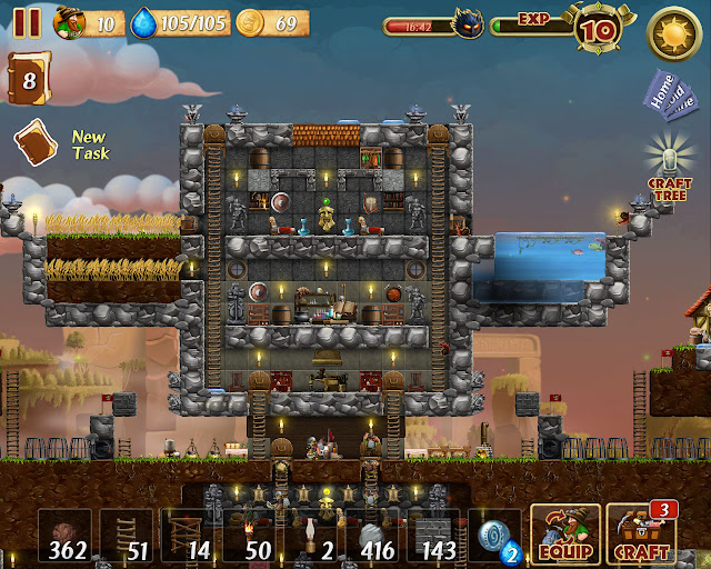 House Pool | Craft the World Screenshot