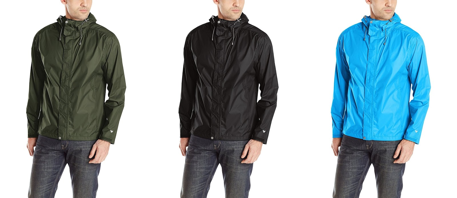 3dd45fe9ff Amazon has this White Sierra Men s Trabagon Rain Jacket on sale for   10- 11