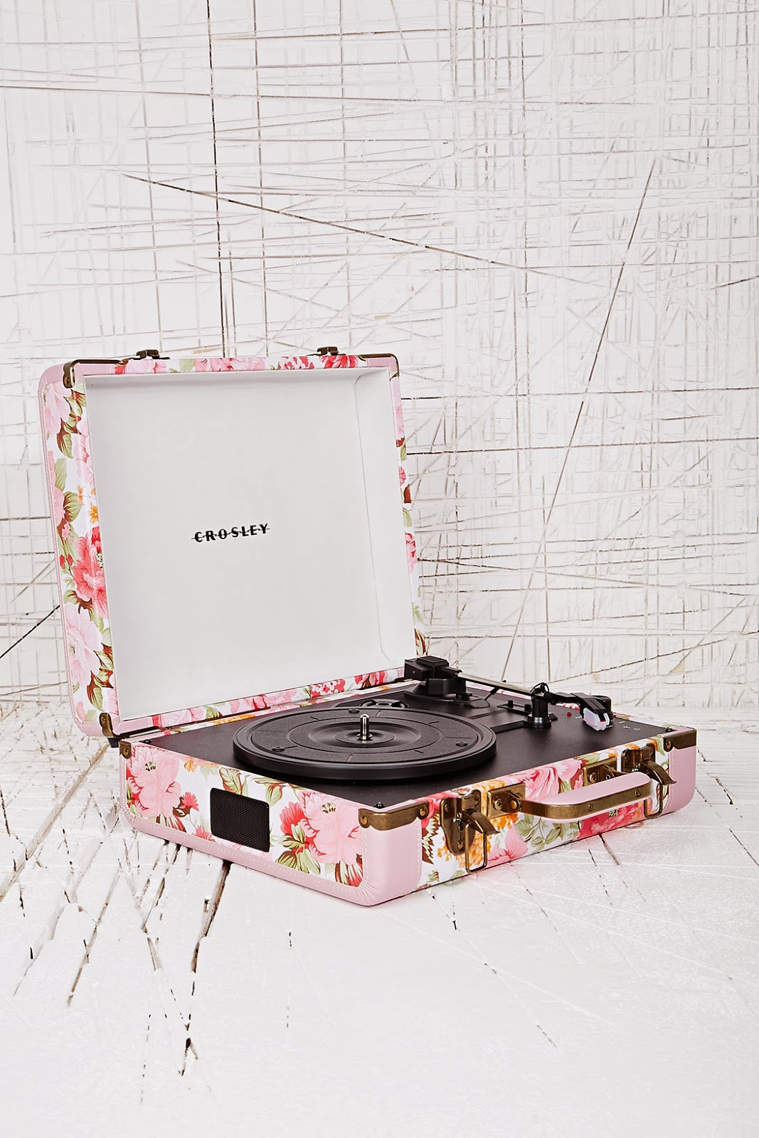 Still Is This Crosley Pink Floral Mini Turntable. Itu0027s £150 And Ever So  Gorgeous. I Love The Pattern, And The Colour, But I Do Wish That The Floral  Design ...