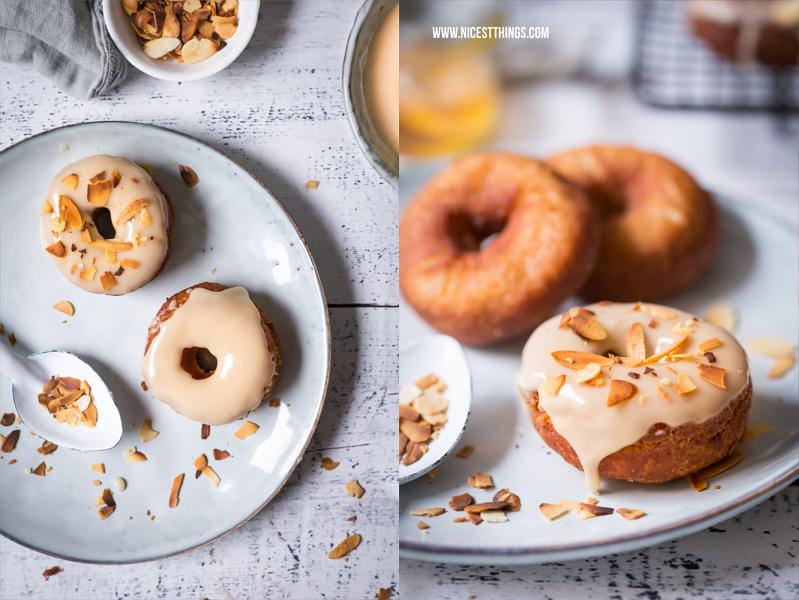 Honig Donuts mit Honig-Glasur Rezept