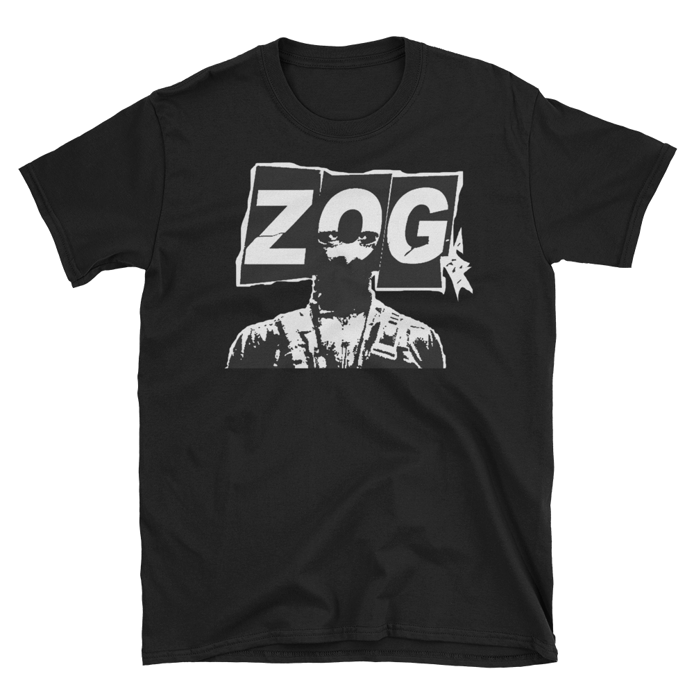 Get a ZOG t-shirt and stand out for once!