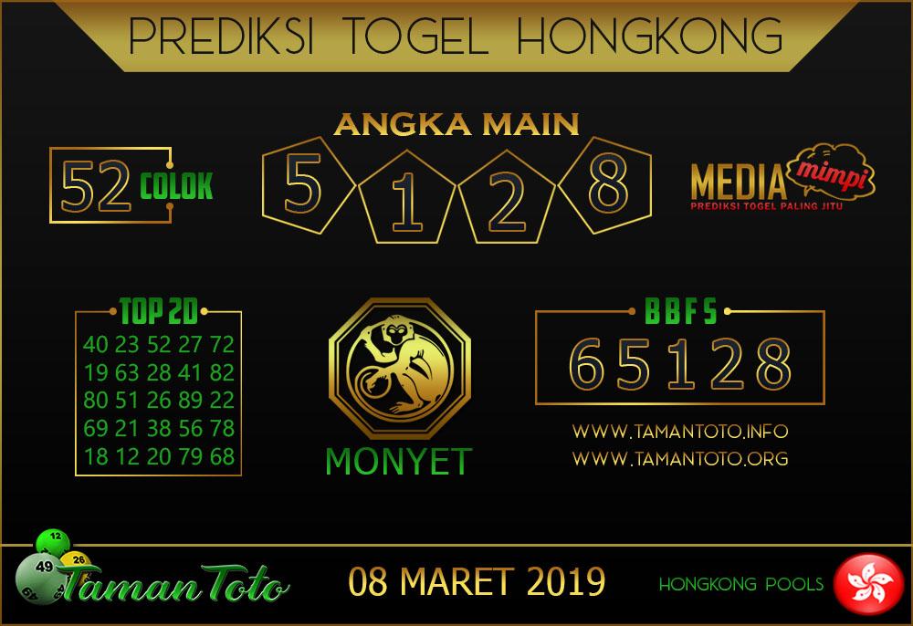 Prediksi Togel HONGKONG TAMAN TOTO 08 MARET 2019
