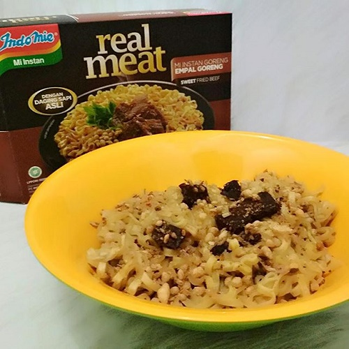 Indomie Real Meat Empal Goreng