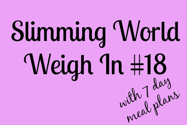 Slimming-world-weigh-in-number-18-with-7-day-meal-plans-text-on-pink-background
