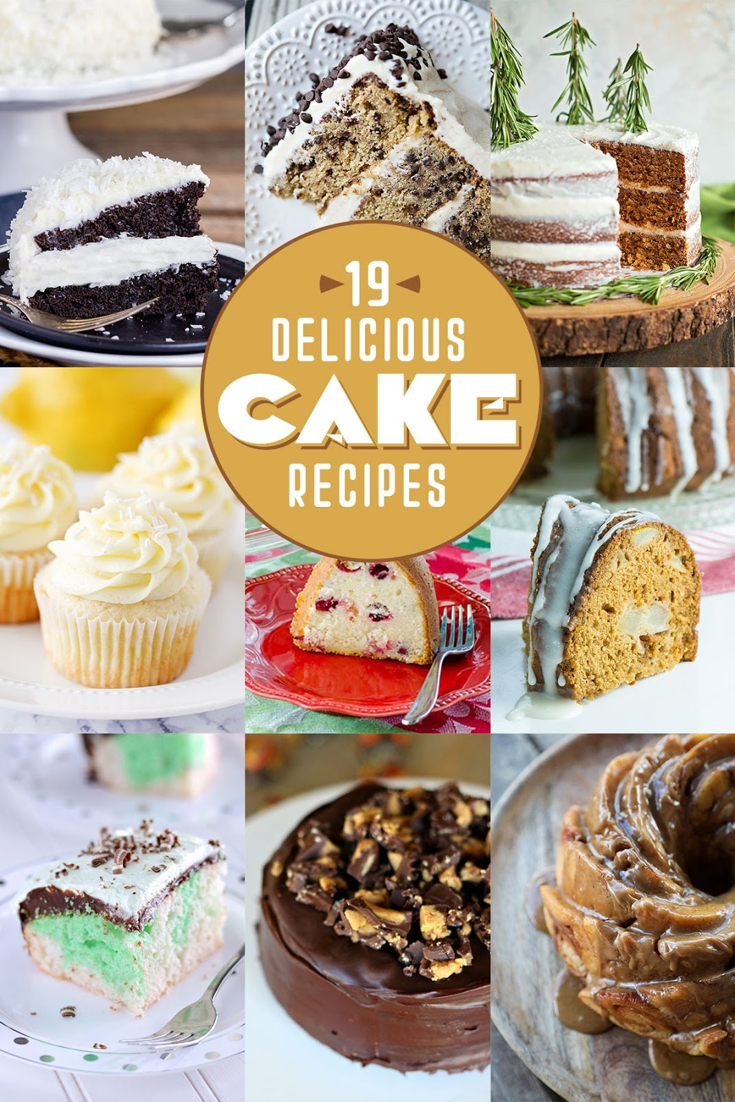 19 delicious cake recipes, perfect for celebrating National Cake Day!