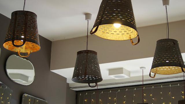 Lights in cafe
