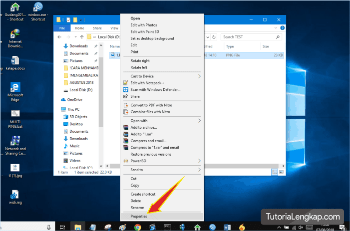 tutorialengkap merubah default program pada windows 10