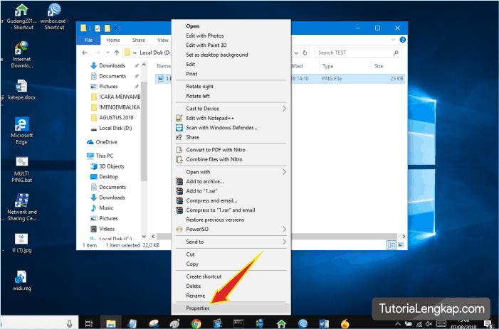 tutorialengkap merubah default program pada windows 10