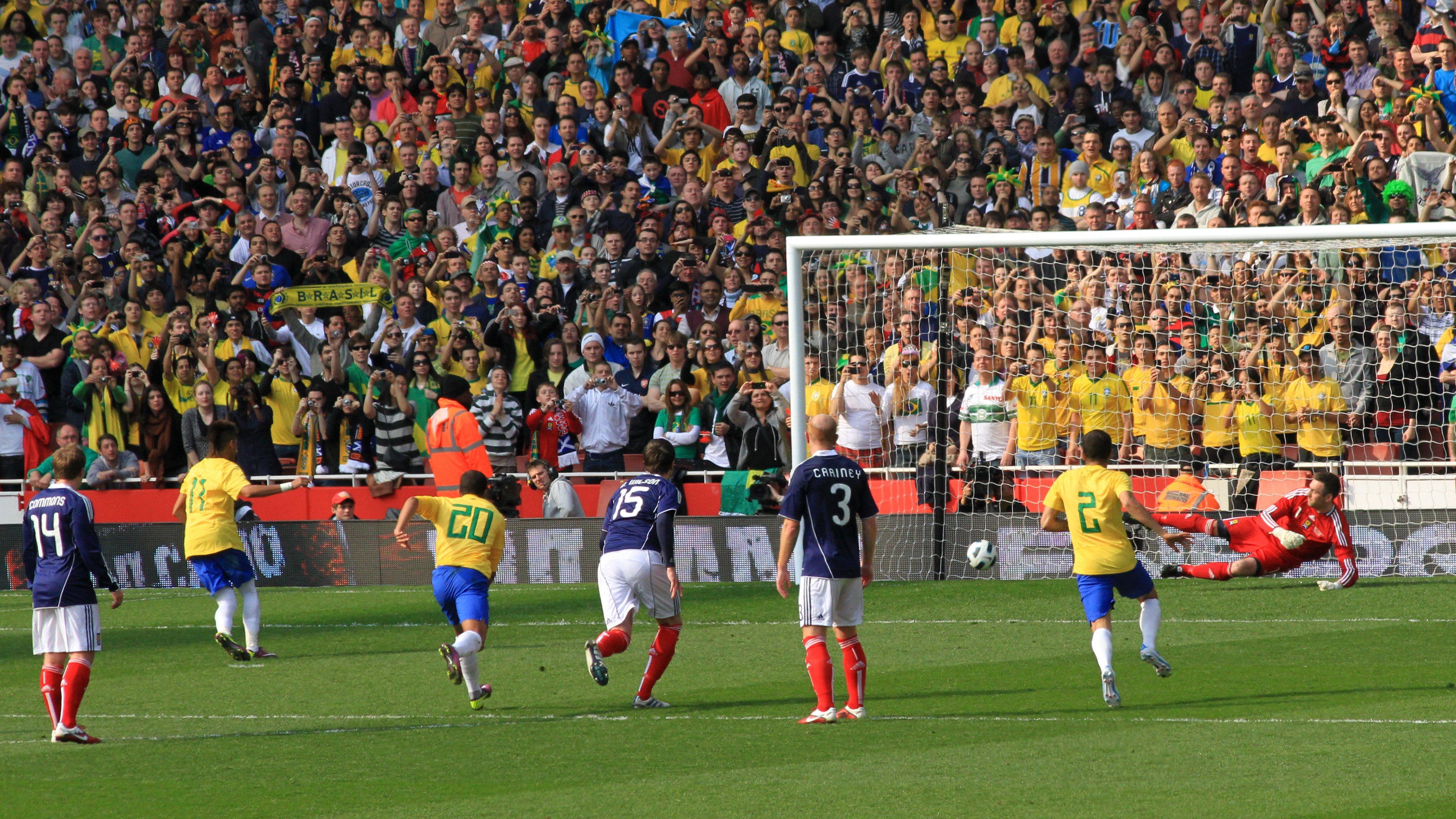 4k Ultra Hd Wallpaper Football: Wallpaper Football Goal