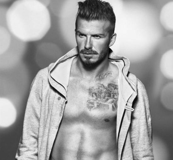 David Beckham lelaki metroseksual