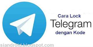 mengatur Auto Lock di telegram