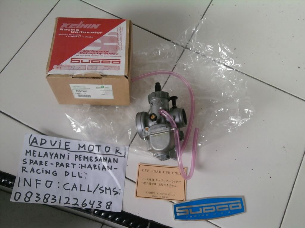 Jual karburator pe 28 keihin japan sudco | Advie Motor