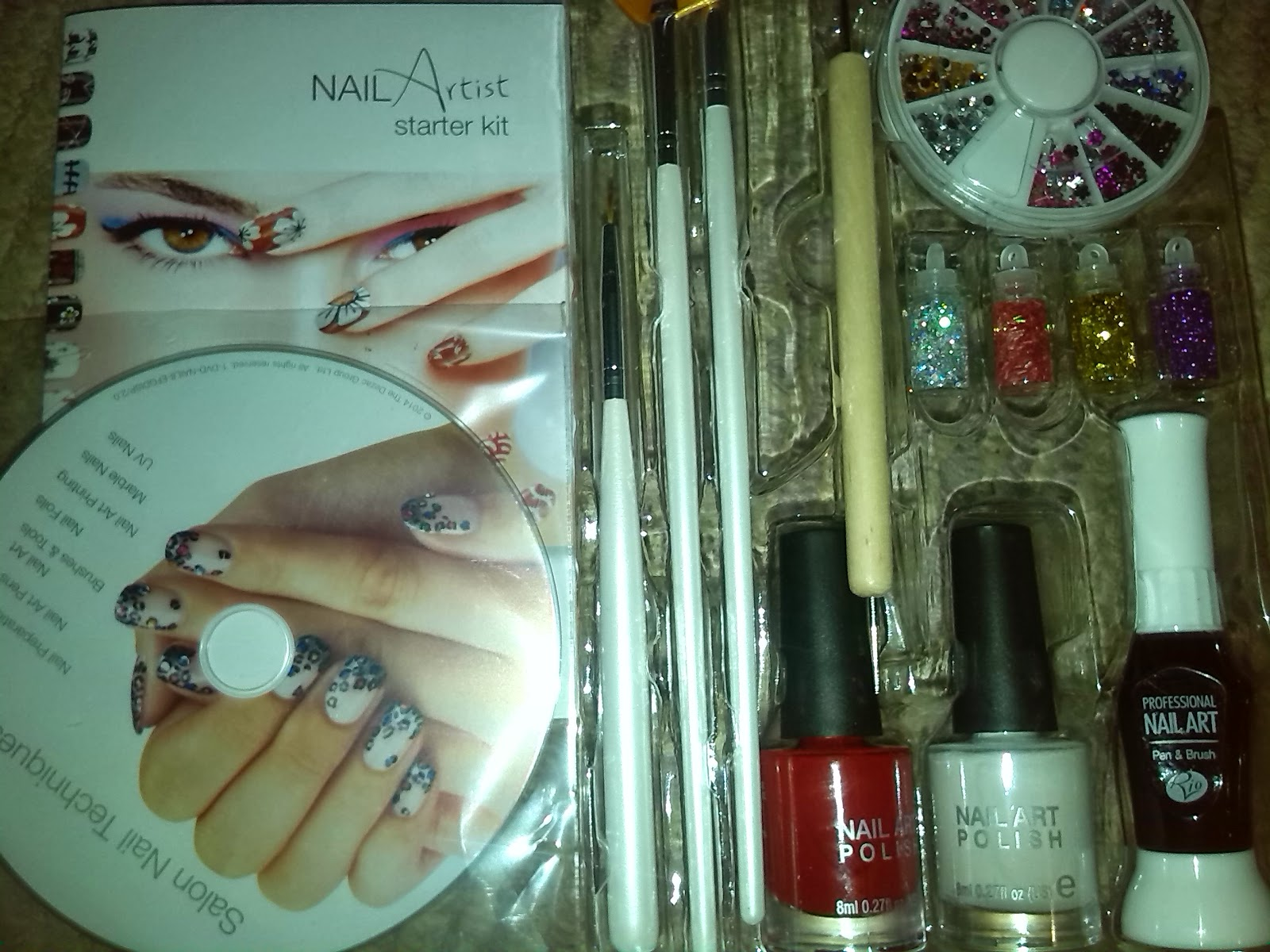 Being Tillys Mummy Rio Nails A Review Of Nail Art Starter Kit